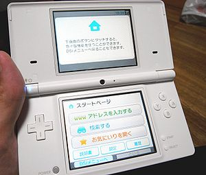 Picture of a DSi.