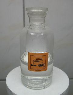 English: Appr. 40 ml of 60% perchloric acid.