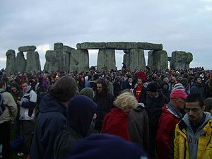 Summer solstice at Stone Henge
