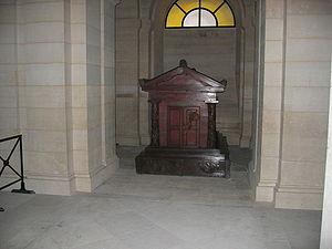 Tombeau de Jean Jacques Rousseau au panthéon d...