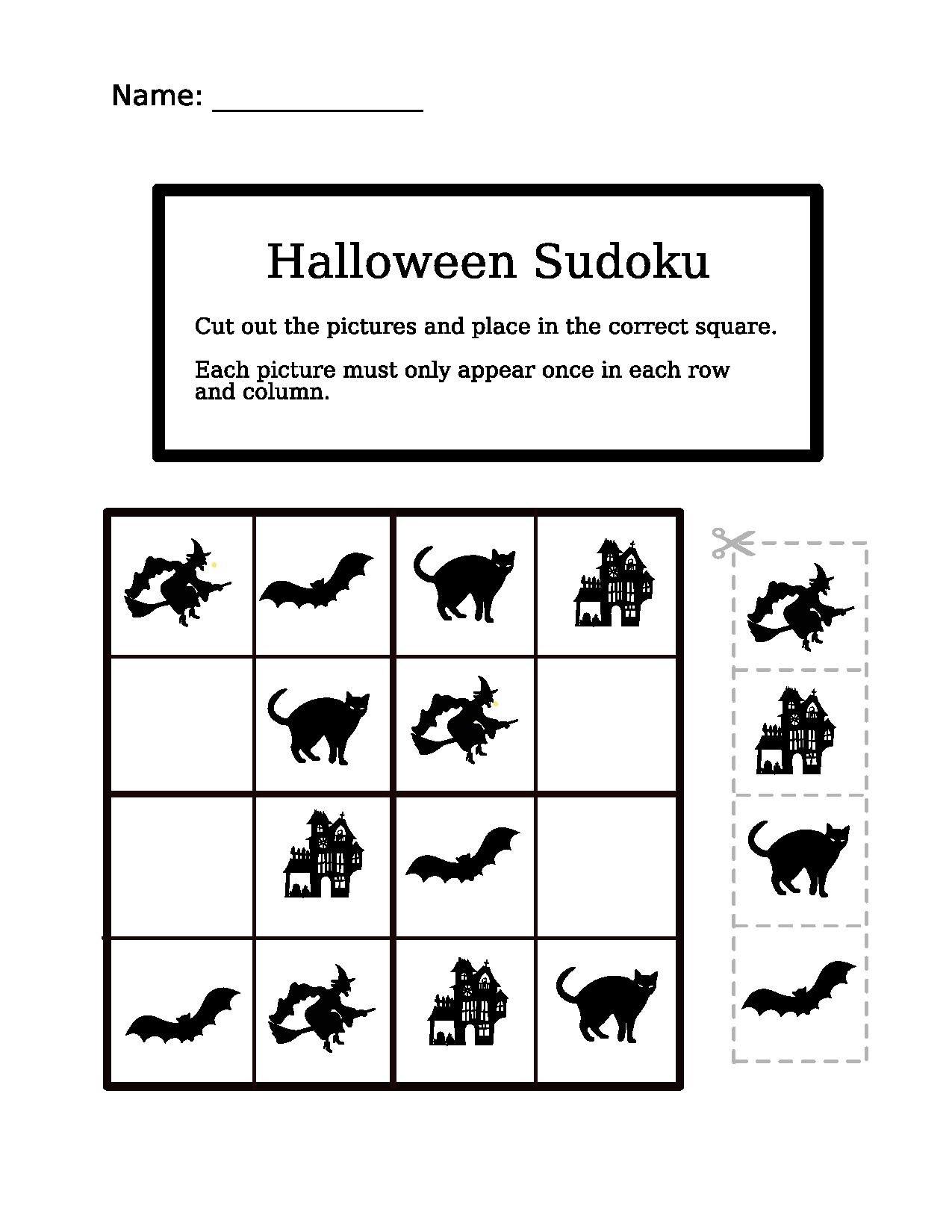 Logic Puzzle Worksheet Kindergarteners