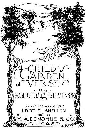 "Deutsch: Titelbild zu ""A Child's Garden o..."