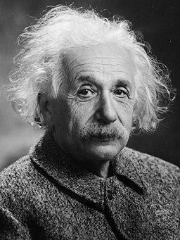 Albert Einstein Head