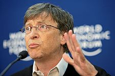 Bill Gates - World Economic Forum Annual Meeting Davos 2008 number3.jpg