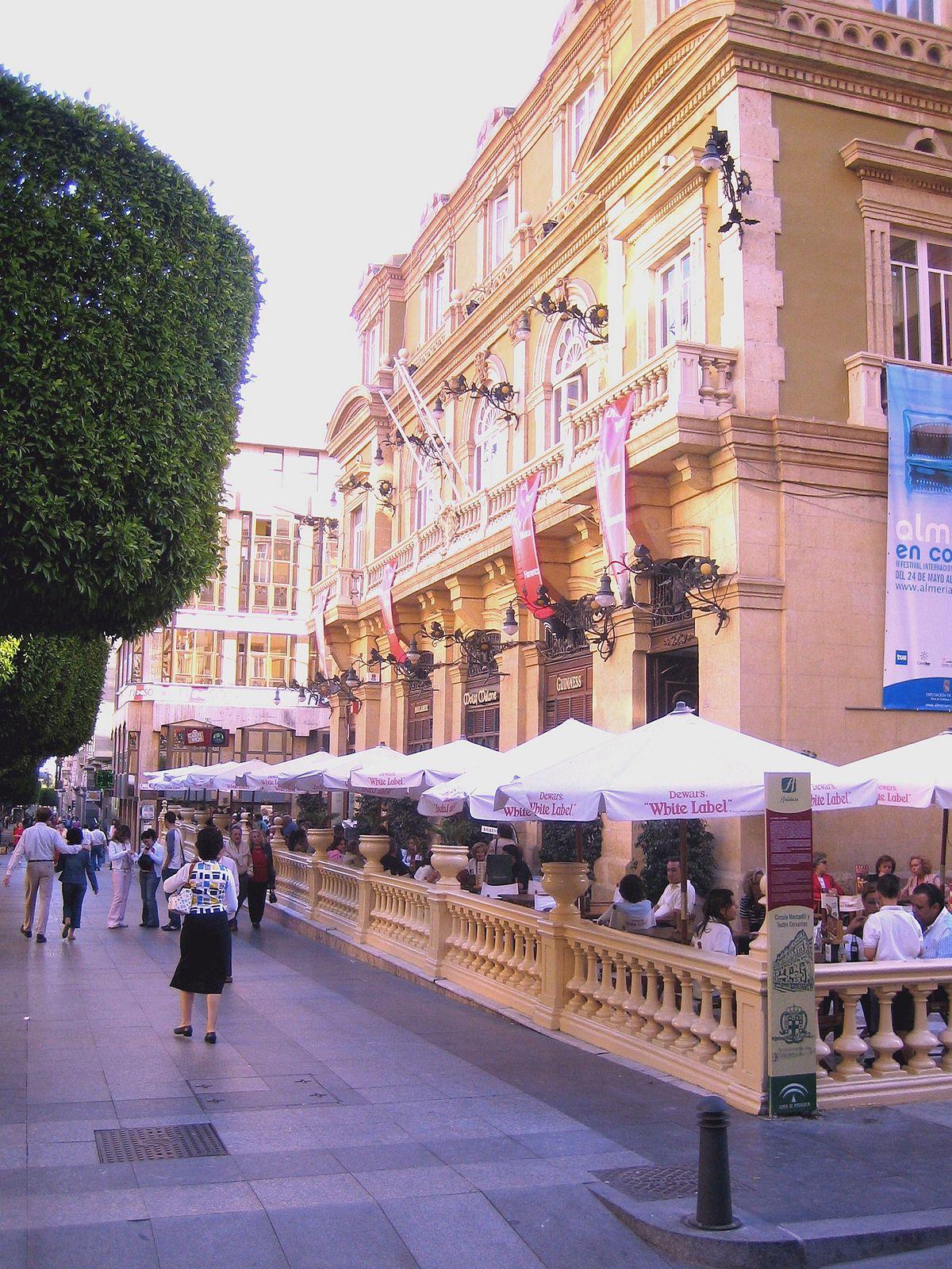 Teatro Cervantes de Almera  Wikipedia la enciclopedia libre