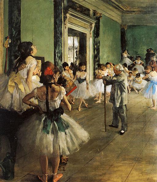 Degas- La classe de danse 1874
