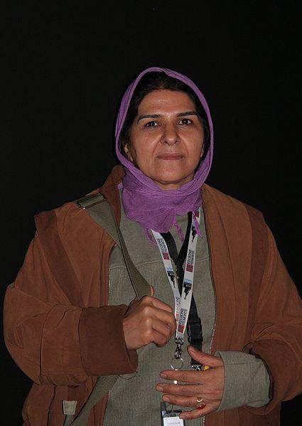 خانم انسیه شاه حسینی در جشنواره Vesoul فرانسه، سال 2009