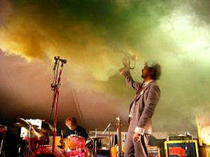 United States indie band The Flaming Lips at F...