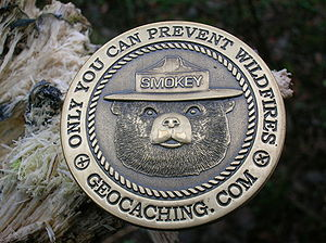English: A Geocaching Geocoin