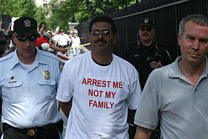 Immigration Reform Leaders Arrested 2