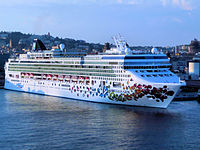 Norwegian gem in Sicily 2008.jpg