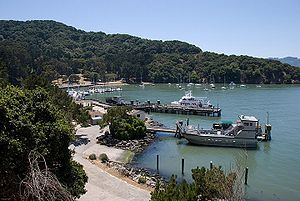 Port of Angel Island