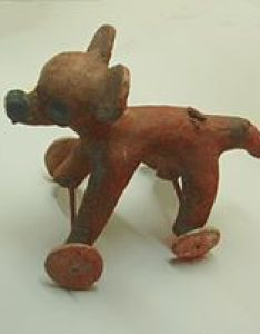 figurine featuring the new world   independently invented wheel also wikipedia rh enpedia