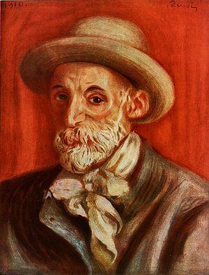 Pierre-Auguste Renoir, Self-Portrait. 1910. 18...