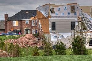 April 2, 2006 Tornado Outbreak, O'Fallon, Illi...