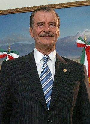 Vicente Fox, President of Mexico (2000 - 2006).