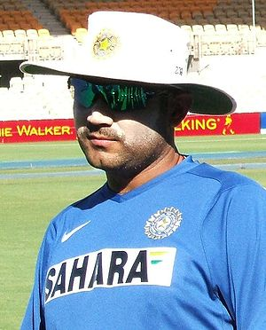 Virender Sehwag at Adelaide Oval