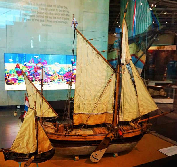 WA Maritime Museum - Joy of Museums - Ship Model -The Dutch Galliot 't Weseltje