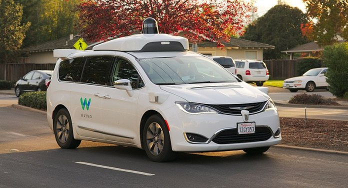 File:Waymo Chrysler Pacifica in Los Altos, 2017.jpg