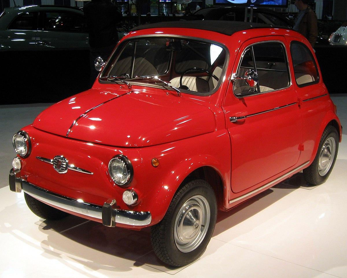 Fiat Nuova 500 Wikipédia
