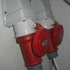 3 Phase 5 Pin Plug Wiring Diagram Uk Vw Polo 9n Radio Iec 60309 Wikipedia