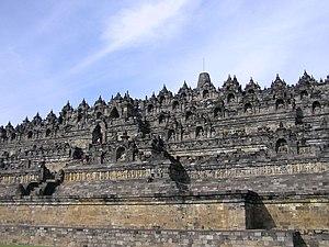 English: Borobudur, central Java, Indonesia