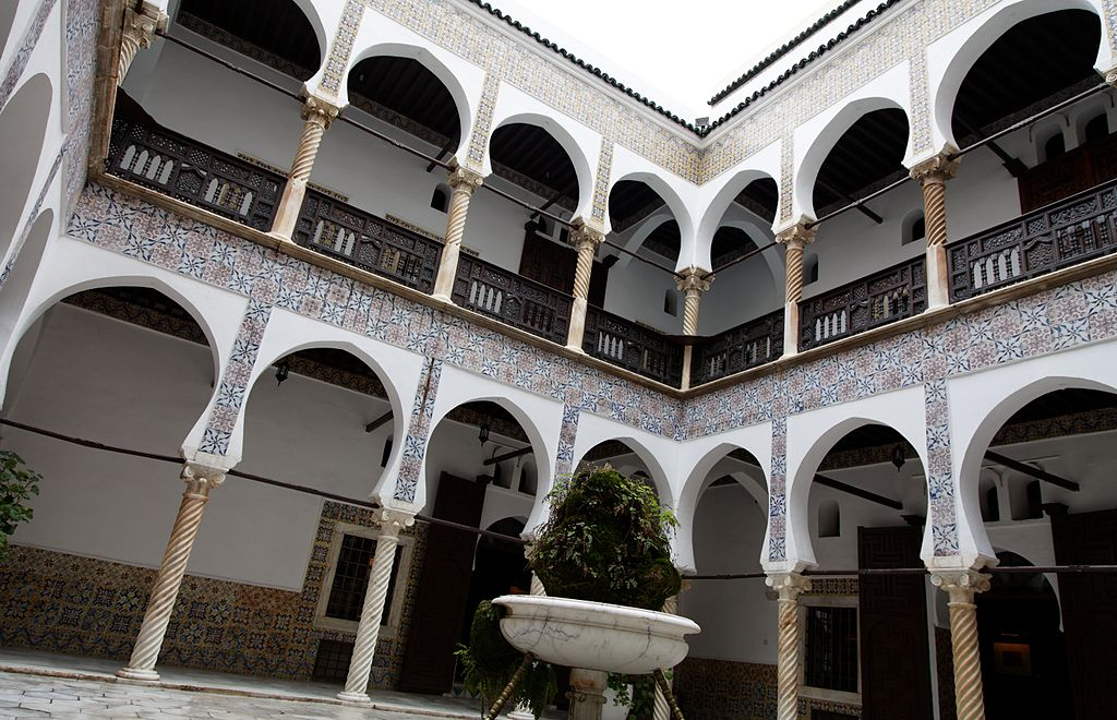 FileCasbah of Algiers villa patiojpg  Wikimedia Commons