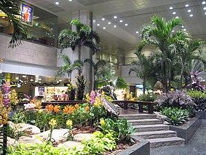 Singapore Changi Airport, Terminal 2, Restrict...