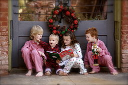 Children reading The Grinch