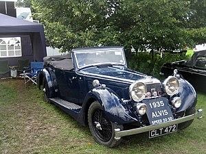 English: Classic Cars, 109th Poynton Show A Br...