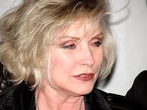 Debbie Harry at the premiere of SqueezeBox! at...