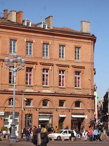 Français : McDo du Capitole à Toulouse.