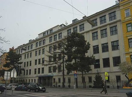 Czech Schools In Vienna The Former Komensk School In The Vorgartenstra E Number