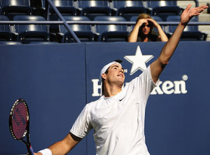 John Isner at the 2009 US Open