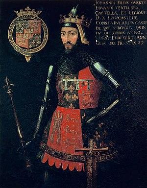 English: John of Gaunt, Duke of Lancaster