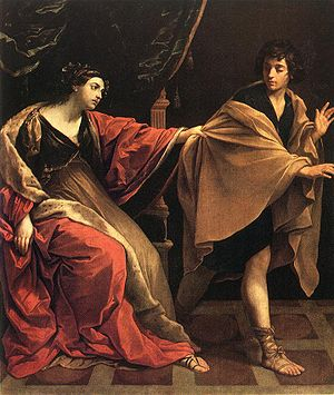 Joseph and Potiphar's Wife (1631 painting by G...