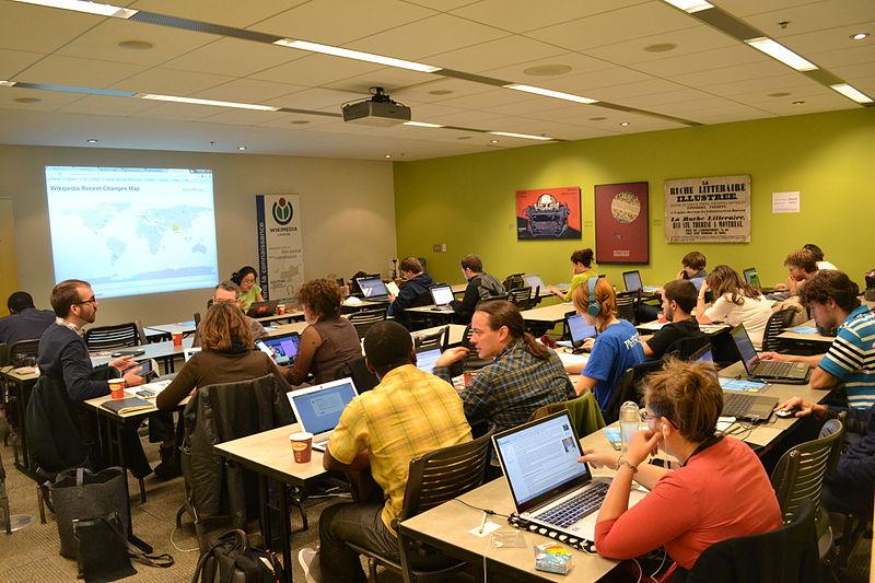 File:Journée contributive - Montréal Wikimédia Canada - Acfas - BAnQ 14.JPG