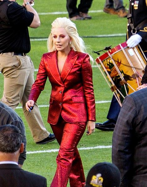 File:Lady Gaga Super Bowl 50 National anthem.jpg