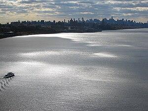NYC viewed from George Washington Bridge
