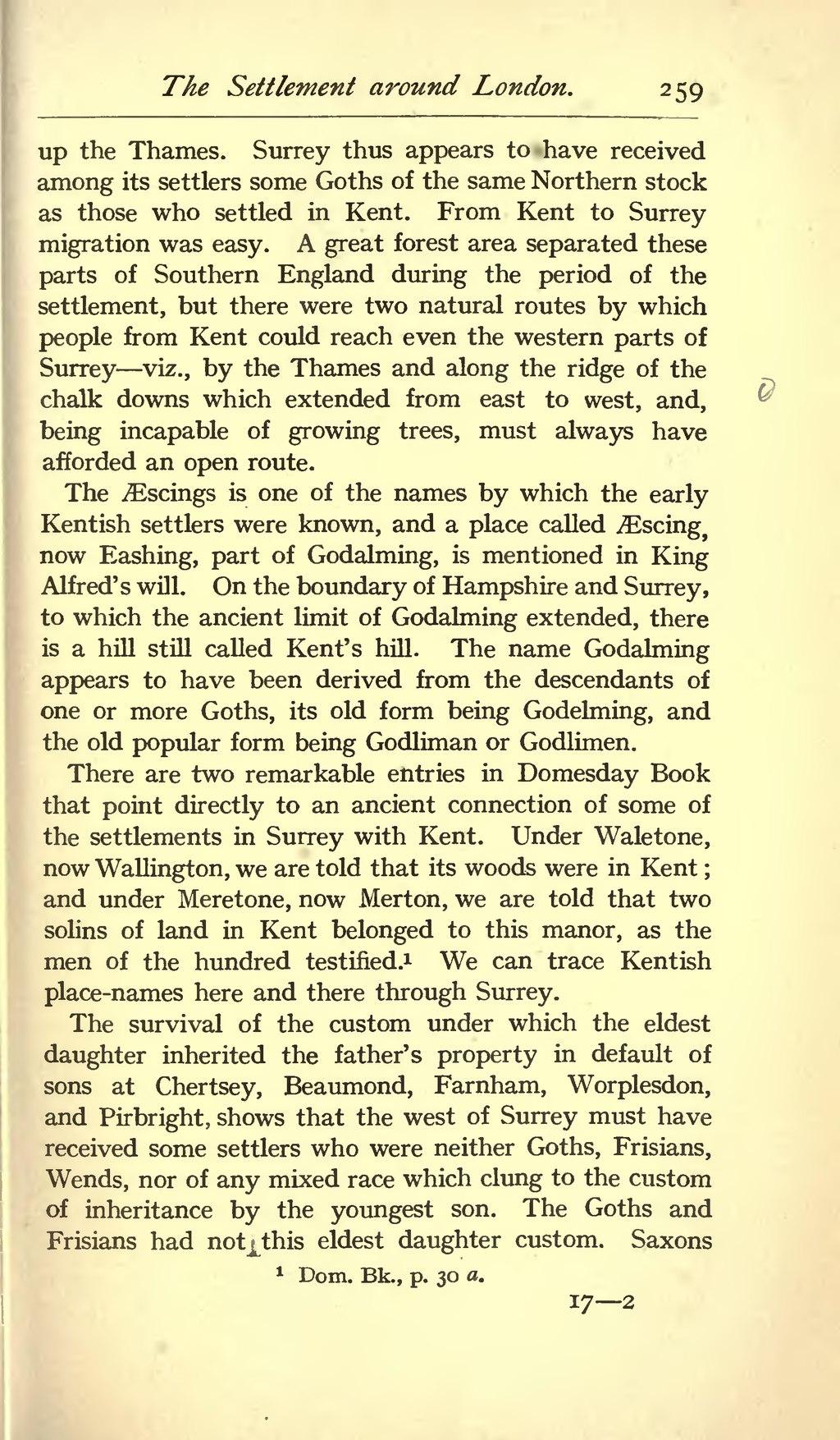 Page Origin Of The Anglo Saxon Racevu 273