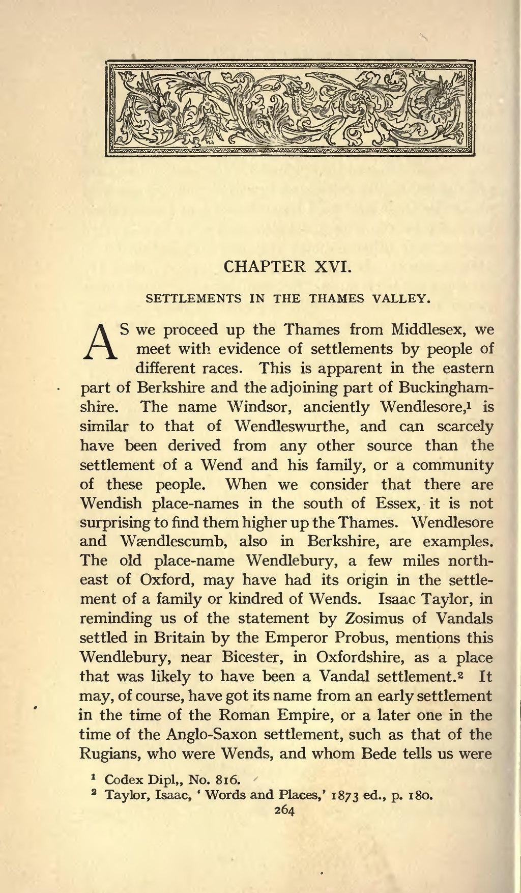 Page Origin Of The Anglo Saxon Racevu 278