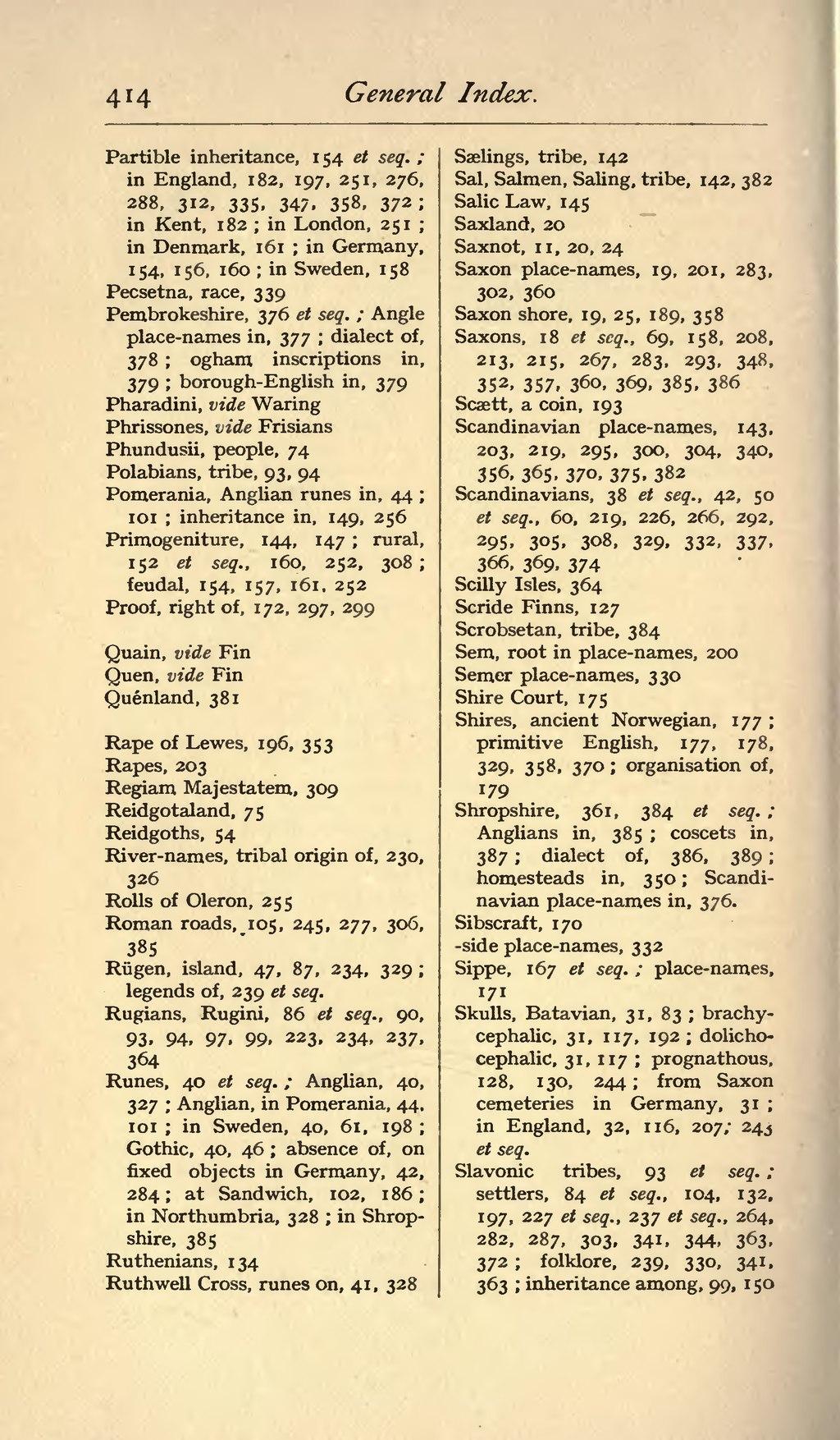 Page Origin Of The Anglo Saxon Racevu 428