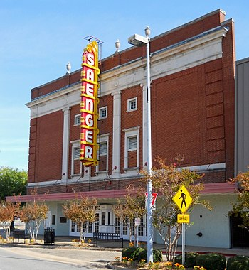 English: Saenger Theater, Biloxi, Mississippi, USA