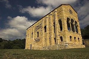 View of Santa_maria_del_naranco church(842-850...