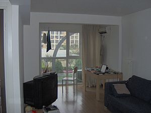 English: apartment