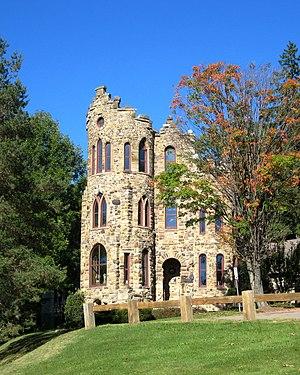 Alfred University's Steinheim Building—often c...