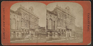 Tamany Hall. (Tammany Hall.), from Robert N. D...