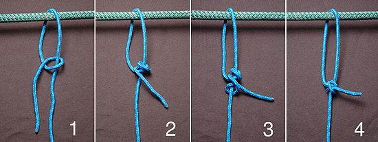 Self Tightening Knot