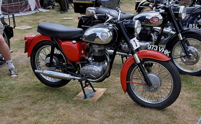 File 1962 Bsa B40 At Long Melford 26th Annual Vintage