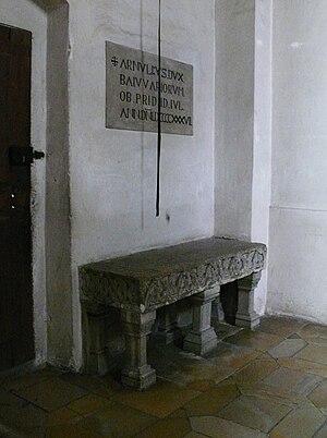 Deutsch: Arnulf I. (Bayern) English: